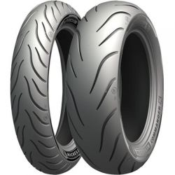 PNEUS MICHELIN COMMANDER III ROAD KING 2009 A 2019 - 130/90-16 (Diant) e 180/65-16 (Tras)