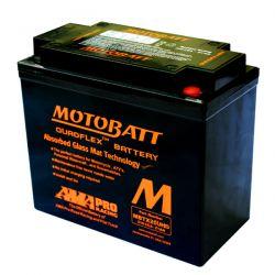 Bateria MOTOBATT SOFTAIL, DYNA E VRSC - MBTX20UHD / YTX20L-BS